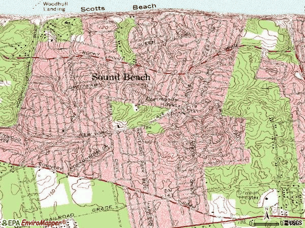 Zip code 11789 topographic map