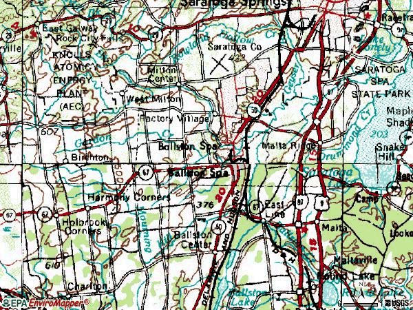 Zip code 12020 topographic map