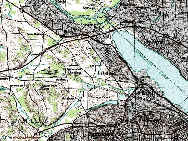 Zip code 13209 topographic map