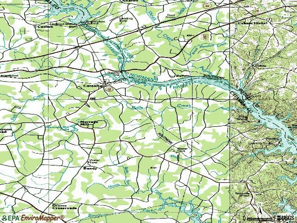 Zip code 28609 topographic map