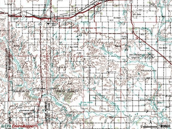 Zip code 00736 topographic map