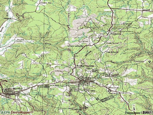 Zip code 37387 topographic map
