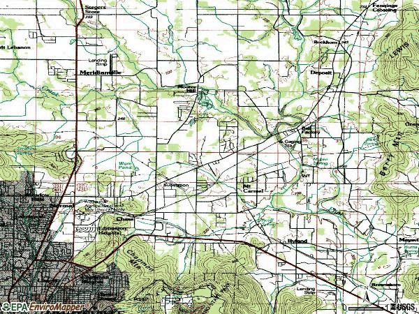 Zip code 35811 topographic map