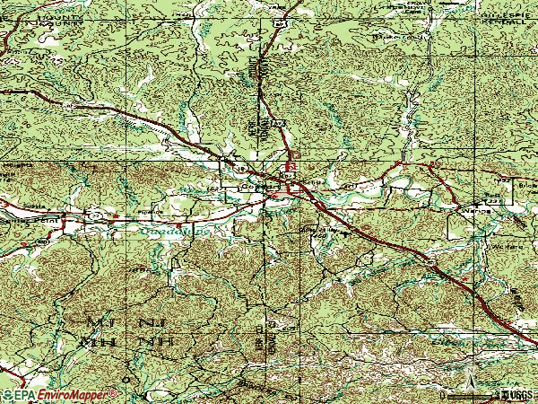 Zip code 78013 topographic map