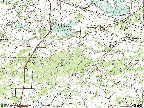Zip code 78112 topographic map