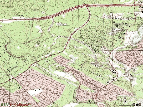 Zip code 78248 topographic map