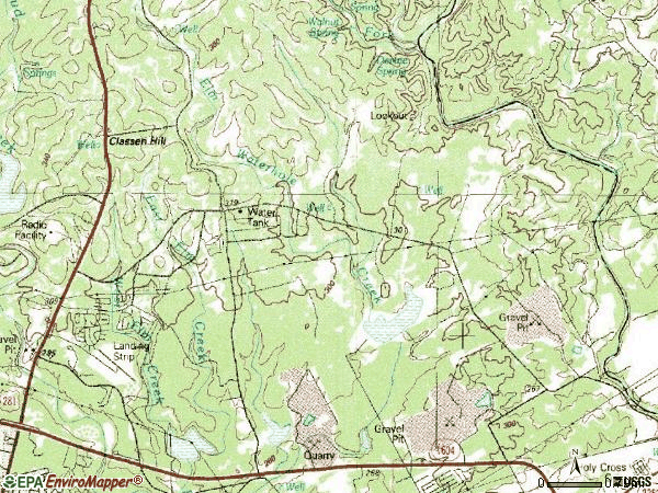 Zip code 78259 topographic map