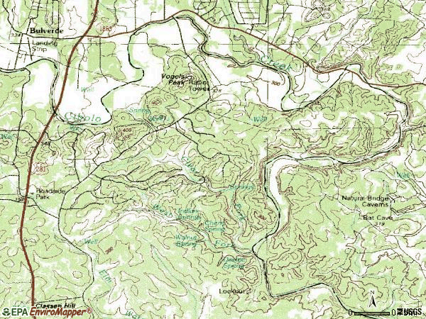 Zip code 78261 topographic map
