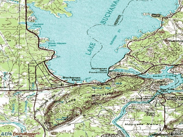 Zip code 78609 topographic map