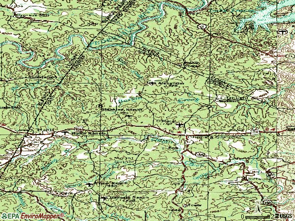 Zip code 78620 topographic map
