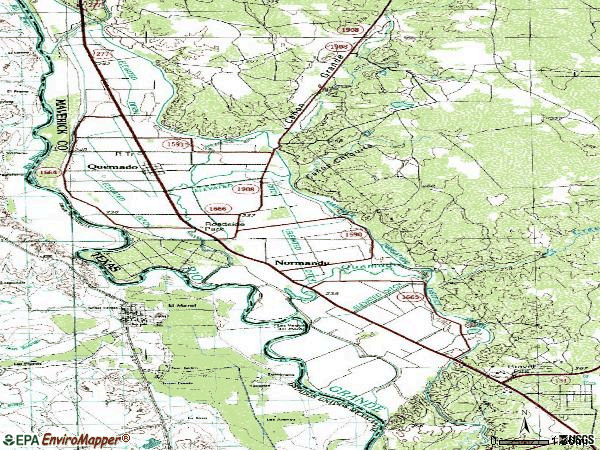 Zip code 78877 topographic map