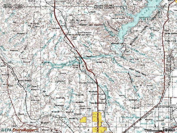 Zip code 00791 topographic map