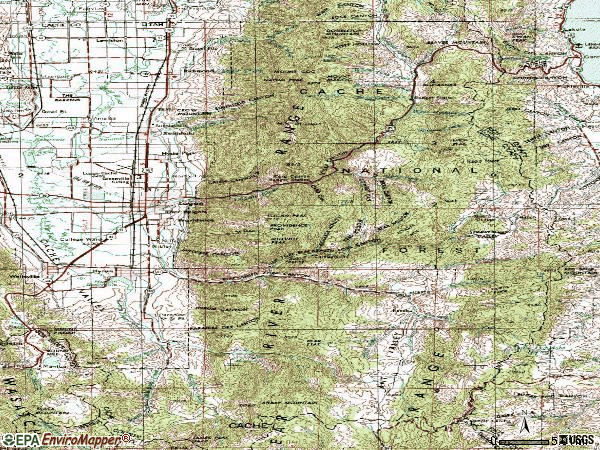 Zip code 84321 topographic map