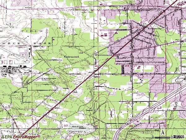 Zip code 98204 topographic map