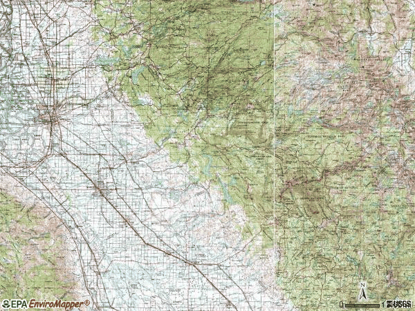 Zip code 00953 topographic map