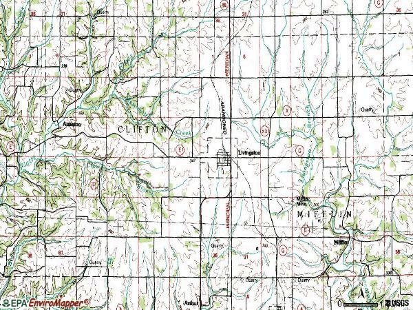 Zip code 53554 topographic map