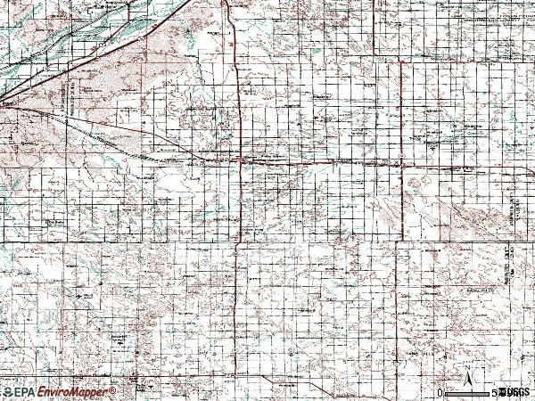 Zip code 80720 topographic map
