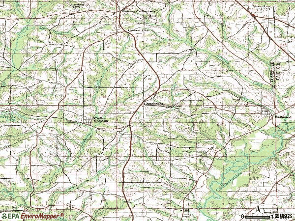 Zip code 36316 topographic map