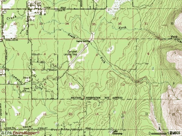 Zip code 99507 topographic map