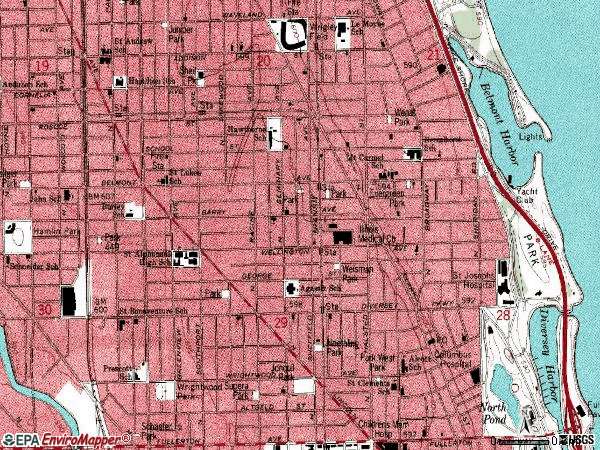 Chicago City Zip Code Map
