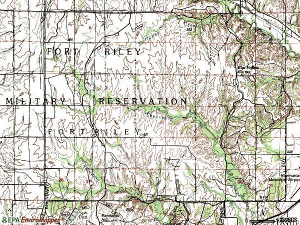 Zip code 00664 topographic map
